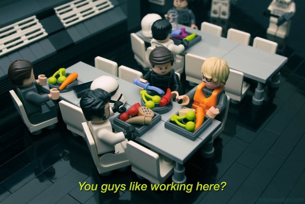 Undercover Boss: Starkiller Base in LEGO (Warning: Choking hazard ...