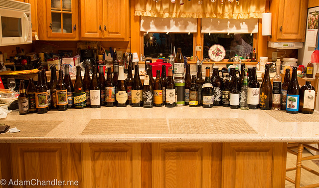 February, Camp Group Beer Tasting