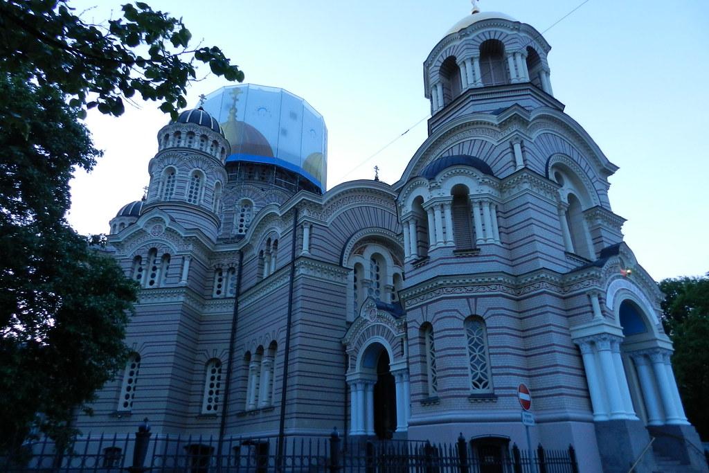 Catedral Ortodoxa de la Natividad de Cristo Riga Letonia 04