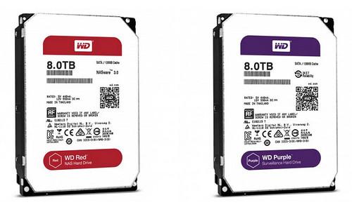 WD Red และ WD Purple ตัวใหม่