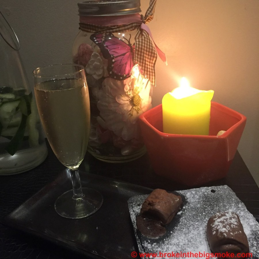 Brownies and Champagne