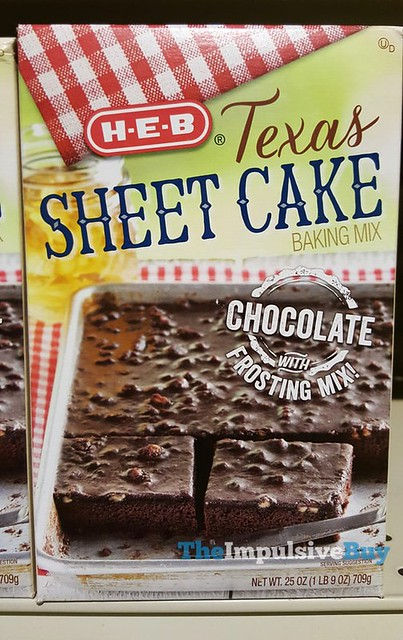 H-E-B Texas Sheet Cake Baking Mix