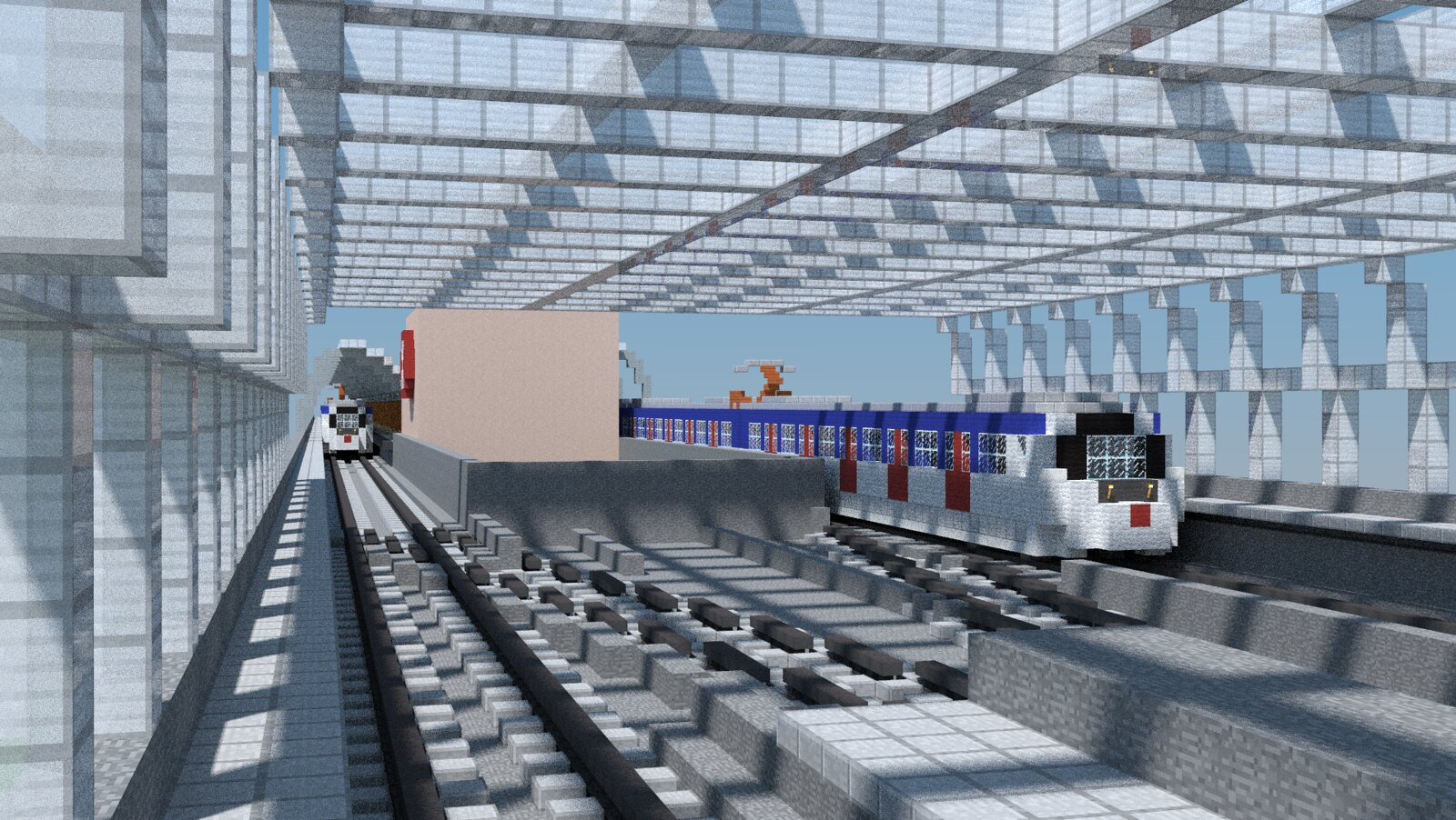 MTR Hong Kong City One Station Minecraft Project
