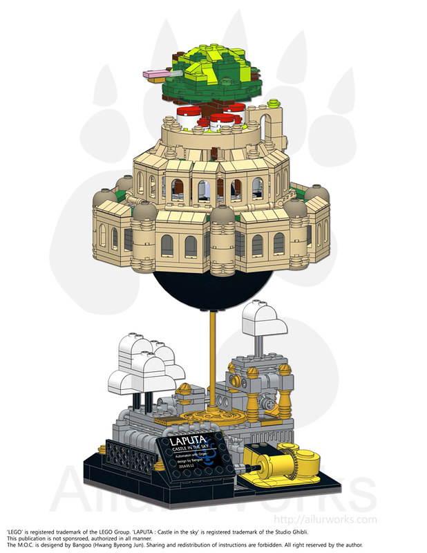 Instructions For Laputa Castle In The Sky Lego Music Box Now