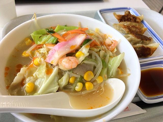 リンガーハットの野菜たっぷりスープ