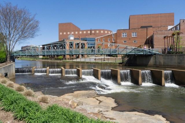 Swamp Rabbit Bridge and Dam