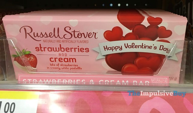 Russell Stover Strawberry & Cream Bar
