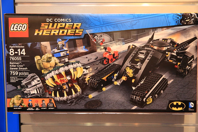 LEGO DC Comics 2016 76055 Batman Killer Croc Sewer Smash 01