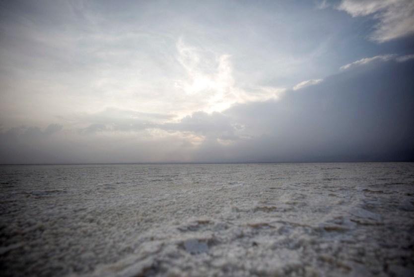 The salt Lake Karum, also know as Lake Assale.