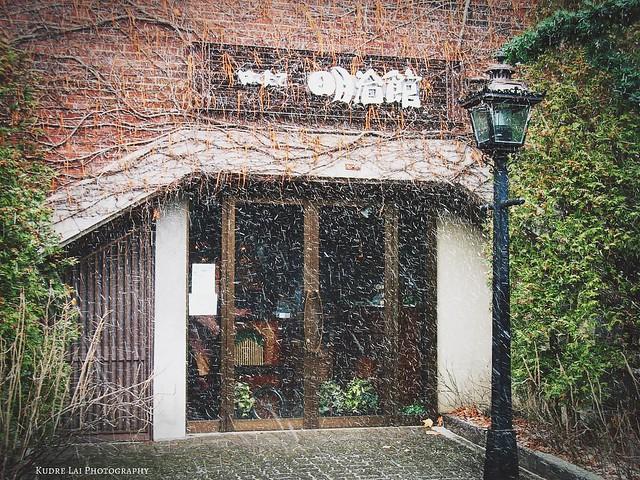 雪中苦澀暖心的溫潤回憶(tenderness in snow scene)