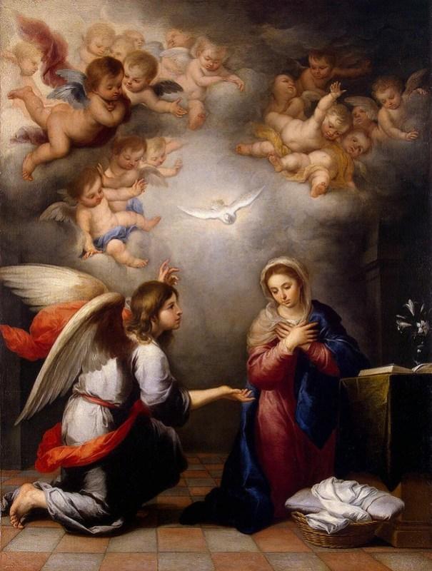 Murillo - Annunciation