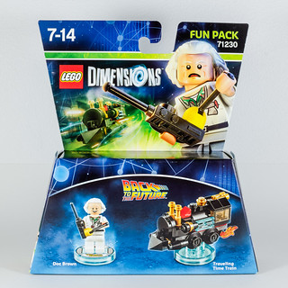 REVIEW LEGO Dimensions 71230 Doc Brown Fun Pack 1