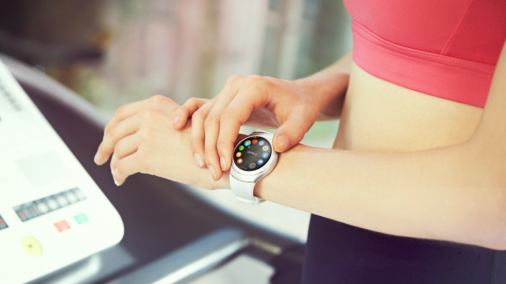 De ring zorgt ervoor dat de Samsung Gear S2 makkelijk is in gebruik!