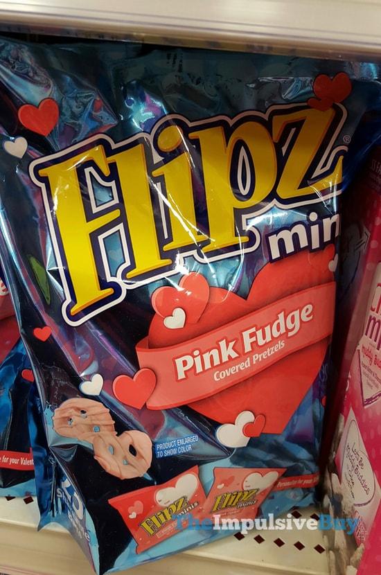 Flipz Minis PInk Fudge