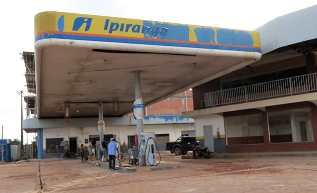 petrol station Rio Castanha