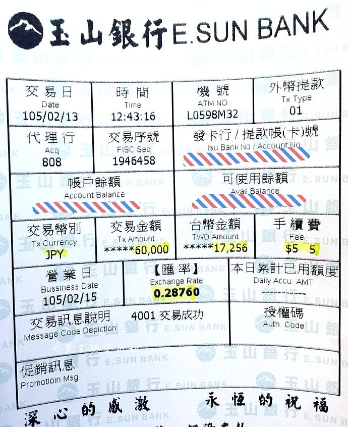 【日本旅遊資訊】用外幣提款機出國換匯輕鬆又實惠-24小時提款不受時間限制,本行提領免手續費,跨行每筆 ...