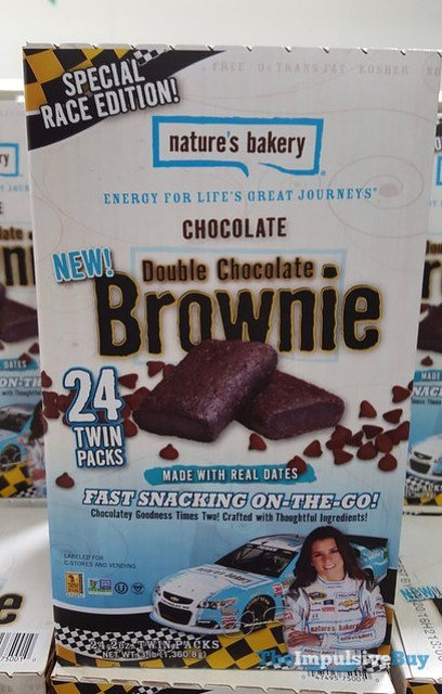 Nature's Bakery Special Race Edition Chocolate Double Chocolate Brownie