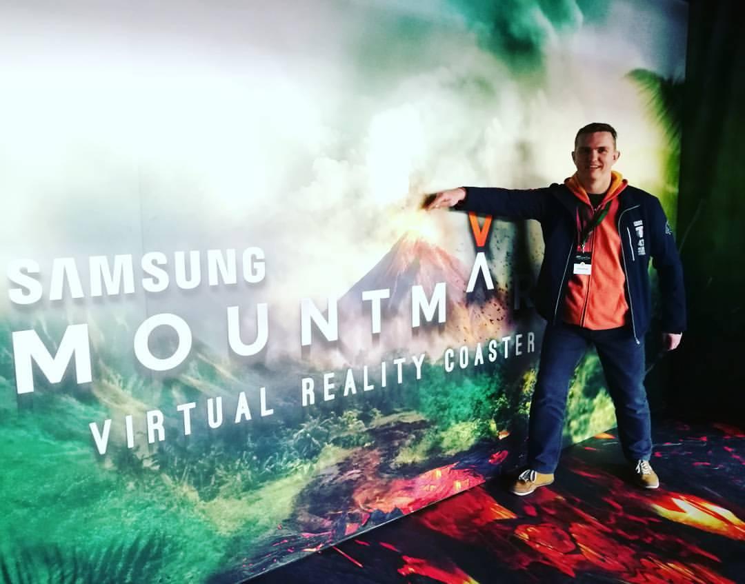 Tijdens deze VR rit, waan je jezelf echt in het midden van Mount Mara!