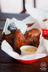 Chicken wings basket, $10: Vic's Meat Market, Pyrmont, Pyrmont. Sydney Food Blog Review.