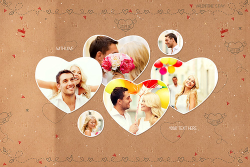 20 Valentine Photo Templates - Vol.01