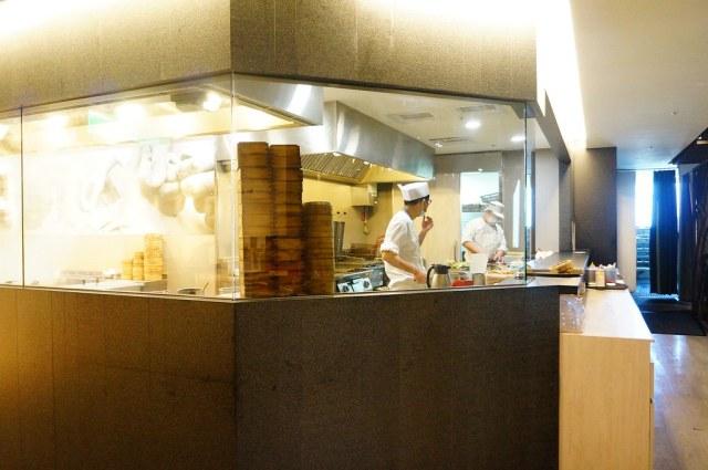 開放式廚房..