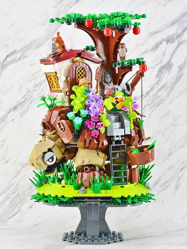 LEGO jardin ambulant