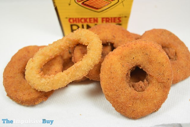 Burger King Chicken Fries Rings 2