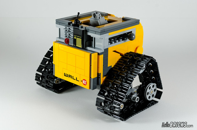 REVIEW LEGO 21303 WALL-E LEGO IDEAS 12