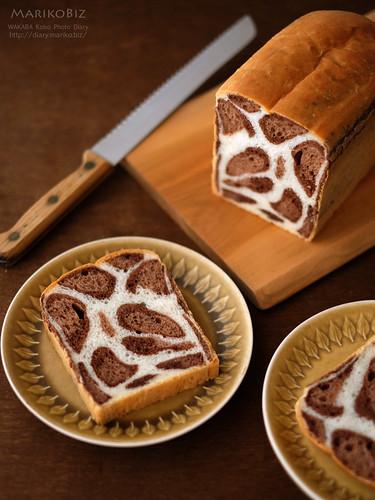 ヒョウ柄食パン 20160113-DSCF3815