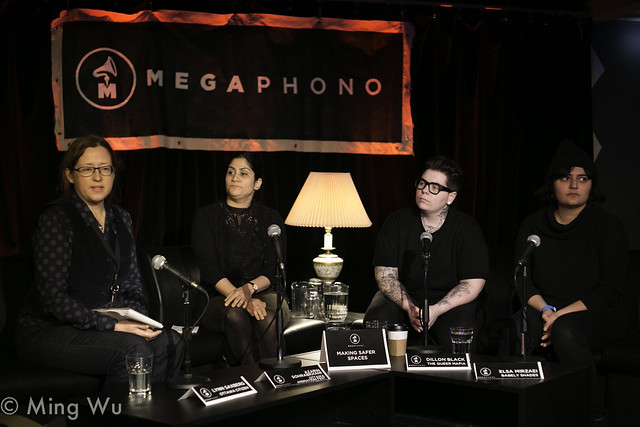 Megaphono Panel: Making Safer Spaces