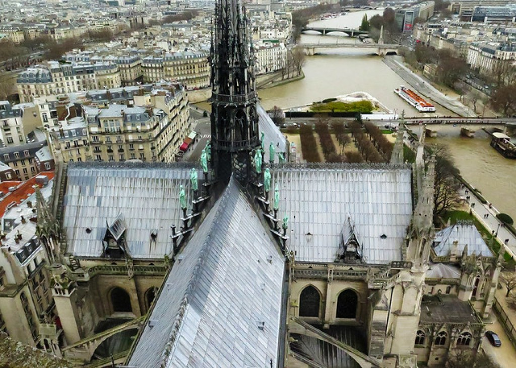 Roof of Notre Dame