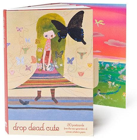 Drop Dead Cute Postcard Book