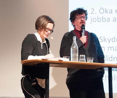 Kristina Mårtensson och Lars Stjernkvist