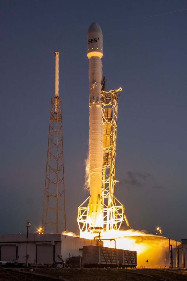 SES-9 - SpaceX