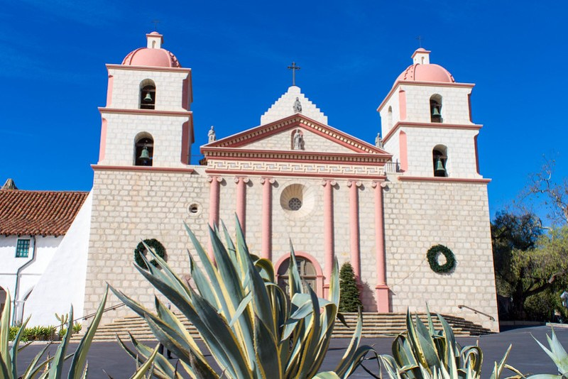 12.24. Santa Barbara. Old Mission