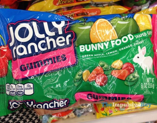 Jolly Rancher Bunny Food Gummies