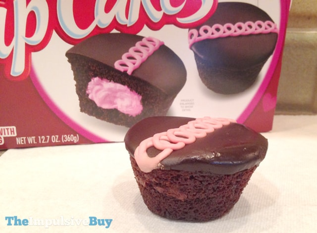 Hostess Limited Edition Dark Chocolate Raspberry Cupcakes 2