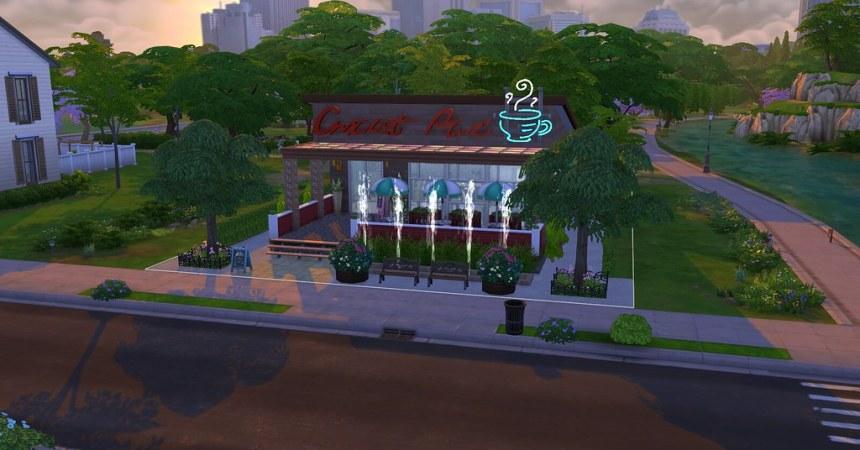 Coffee shop par Jenny Simoleon