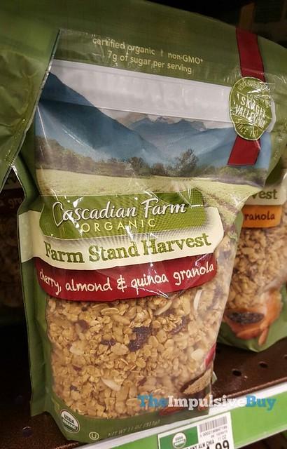 Cascadian Farm Farm Stand Harvest Cherry, Almond & Quinoa Granola