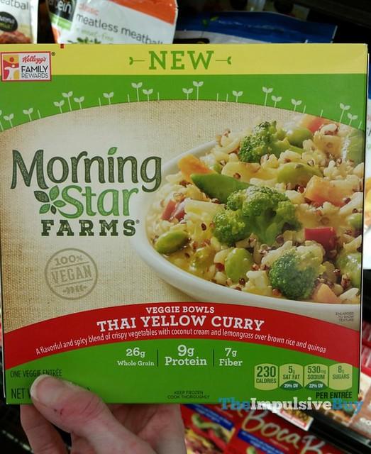 Morningstar Farms Thai Yellow Curry Veggie Bowls