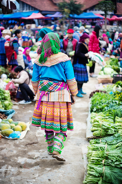 Bac Ha Sunday Market 06