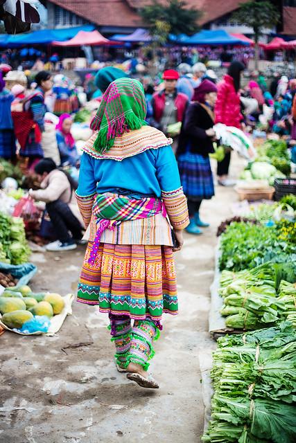 Bac Ha Sunday Market 06