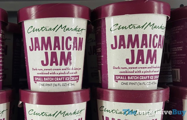H-E-B Central Market Jamaican Jam Small Batch Ice Cream