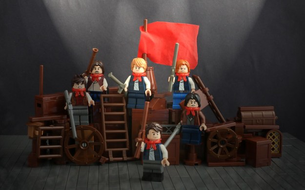 LEGO Les Miserables Theatre Scene