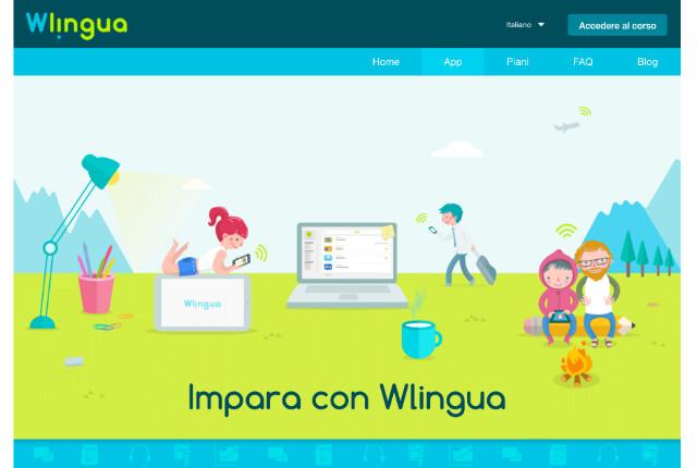 wlingua app per imparare le lingue