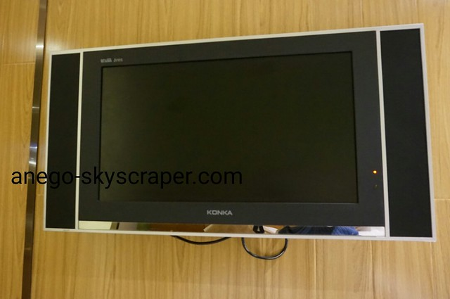 エアポートホテルのテレビ