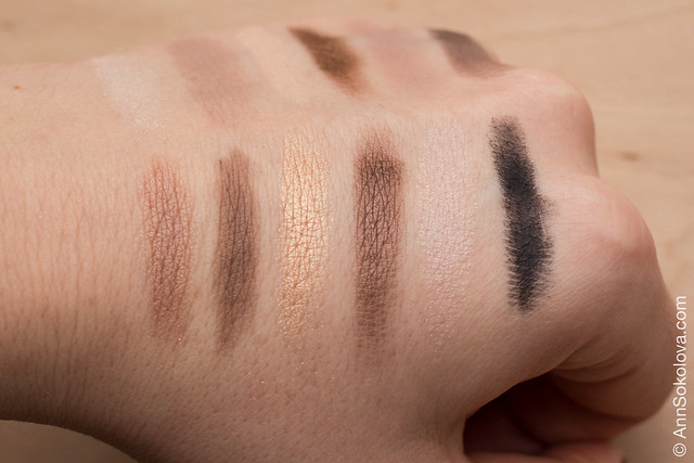 04 Maybelline The Nudes swatches