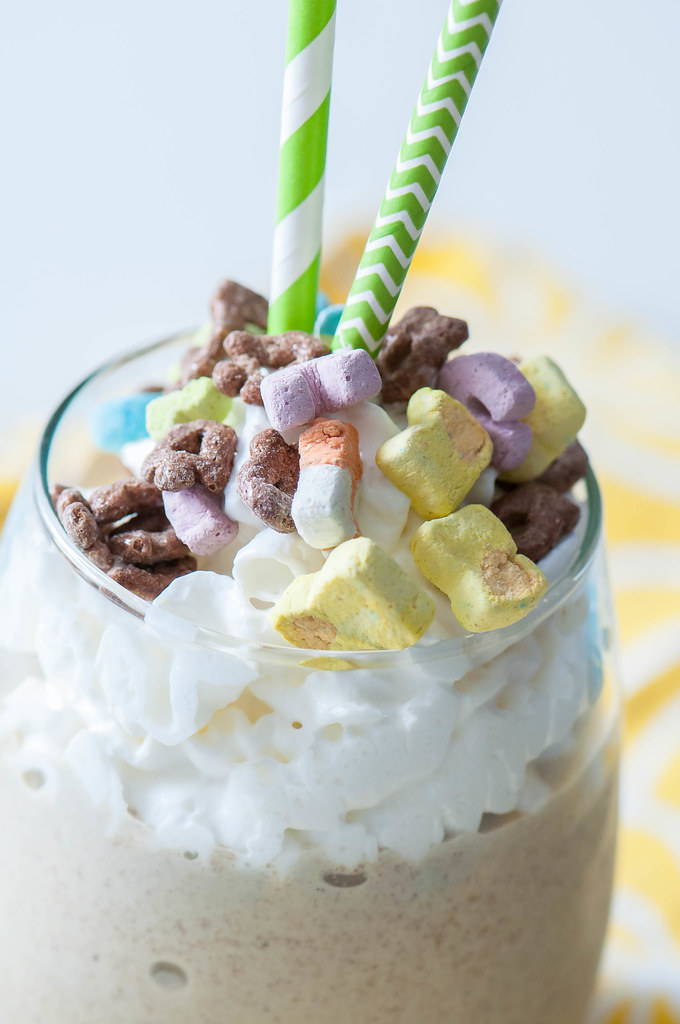 Chocolate Lucky Charms Milkshake 6