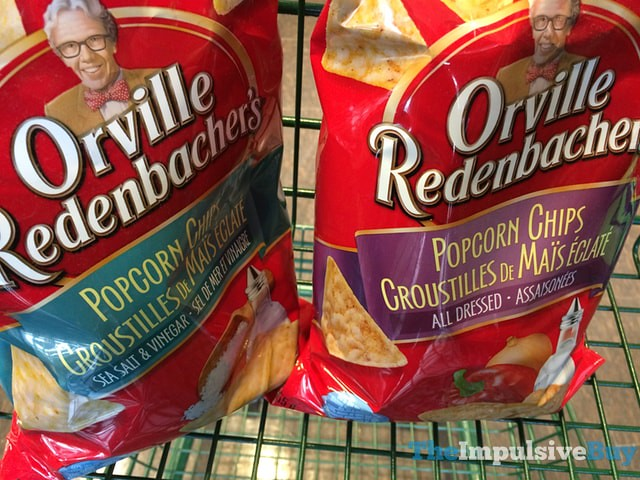 Orville Redenbacher's Popcorn Chips (Sea Salt & Vinegar and All Dressed)