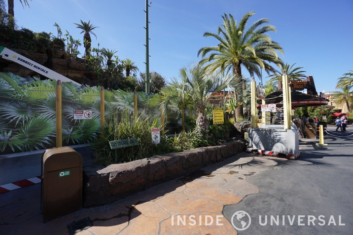 Photo Update: February 20, 2016 - Universal Studios Hollywood - Jurassic Park: The Ride